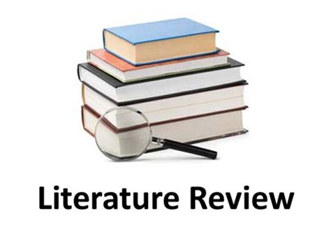 What to include in a literature review